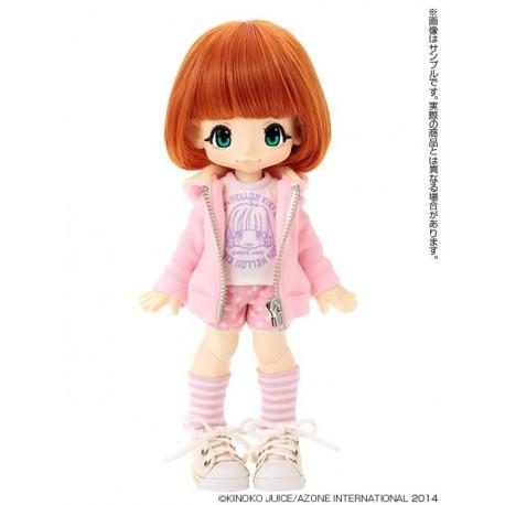 Muñeca Azone Hello Kikipop Kinoko Juice HONEY PINK Doll NEW