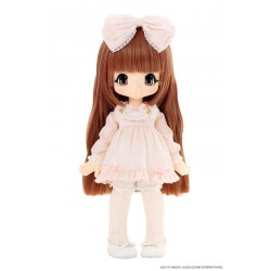 Muñeca Azone Hello Kikipop Kinoko Juice MILKY BLOND ROMANTIC FRILL Doll NEW