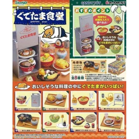 Sanrio Gudetama Cafe Re-Ment rement miniature blind box